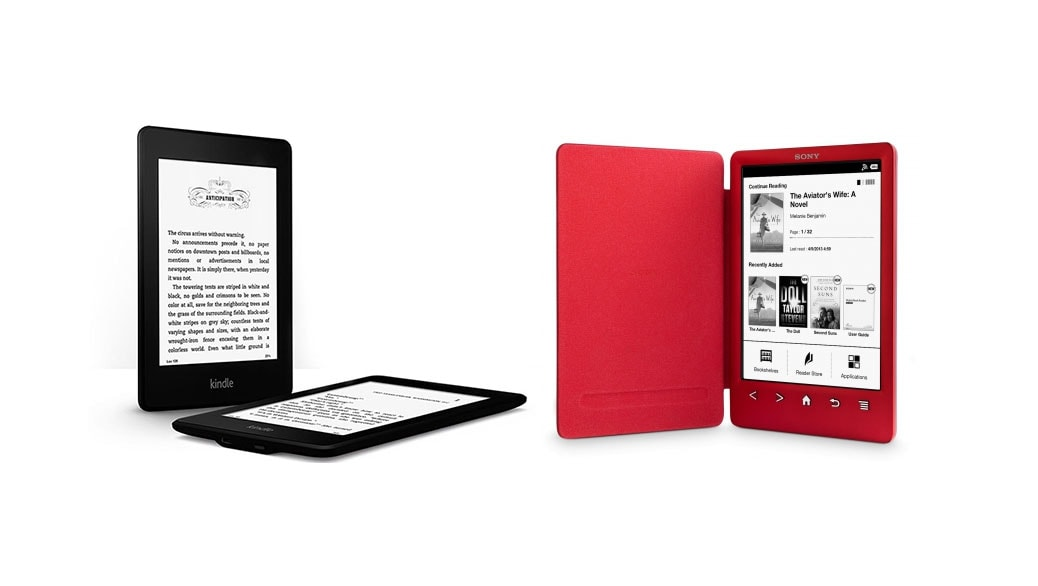 Kindle Vs Sony Reader: El Mejor EBook (eReader) 2014: Kindle Paperwhite Vs Sony