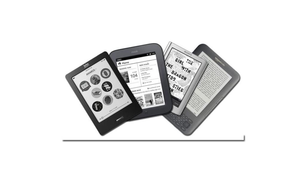 Comparativa eReaders: Amazon Kindle vs resto de marcas de libros electrónicos