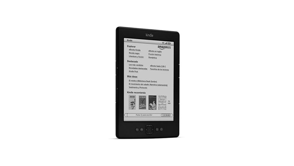 formatos ebook kindle