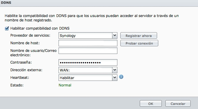 Configuracion servidor synology NAS DS213J 5