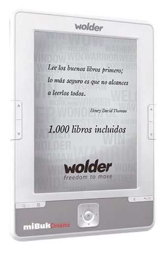 Wolder miBuk Dreams - E-Reader 6
