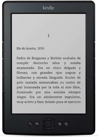 Amazon Kindle de 6""