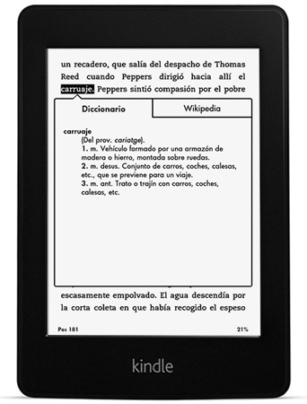 ereader kindle paperwhite