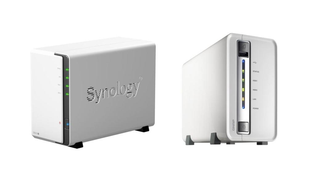 Comparativa Servidor NAS: Synology Diskstation DS213J vs Qnap TS-212P