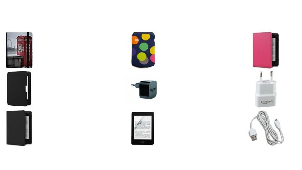 ¿Dónde puedo comprar accesorios para el Kindle Paperwhite?