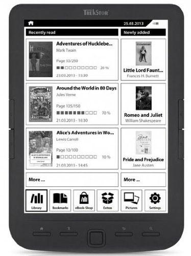 "Trekstor Pyrus maxi - E-Reader 8"""