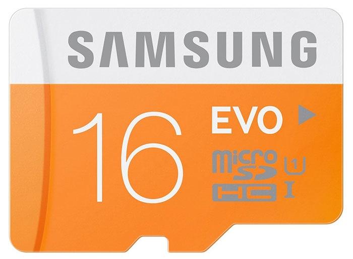 tarjeta samsung microSDHC 16GB