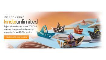 Kindle Unlimited, la tarifa plana de eBooks de Amazon ya disponible en USA