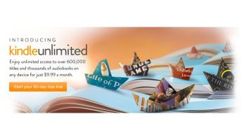 Kindle Unlimited, la tarifa plana de eBooks de Amazon ya disponible en USA