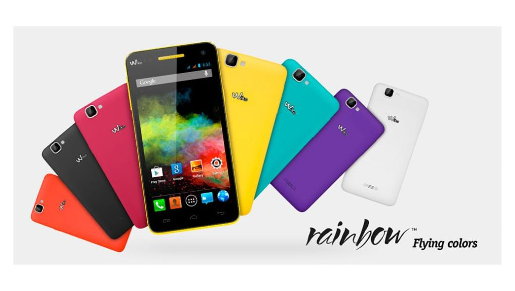 Wiko Rainbow – smartphone de 5″ por menos de 150 euros