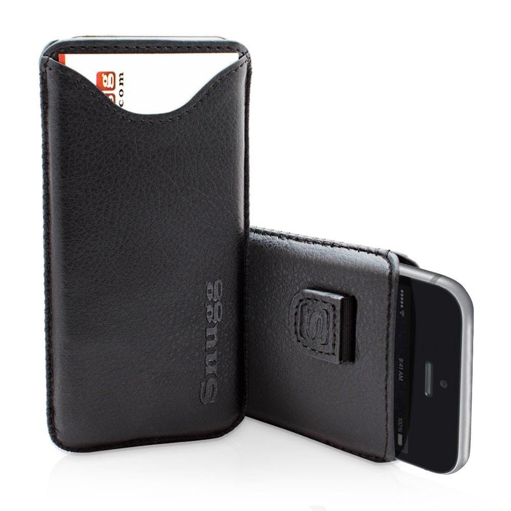 Funda Snugg de cuero en color Negro para el iPhone 6 - iPhone 6 Plus
