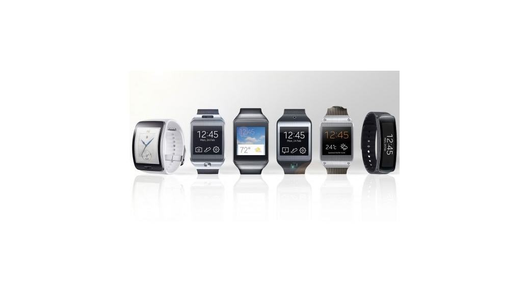 Comparativa Samsung Gear smartwatches: Gear S, Gear Live, Gear Fit, Gear 2, Gear 2 Neo, Galaxy Gear