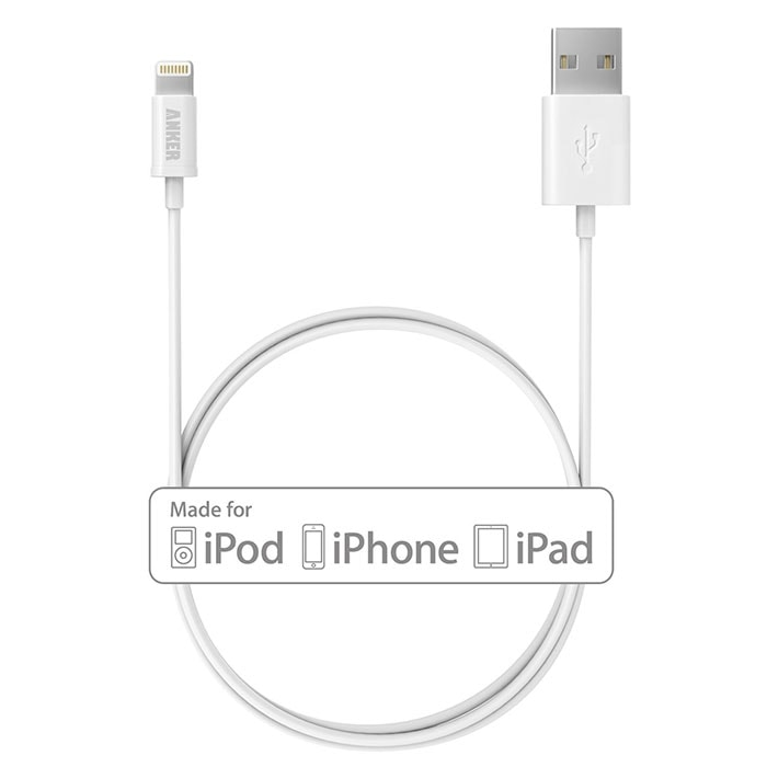 Cable Lightning a USB para el iPhone - iPad de Anker