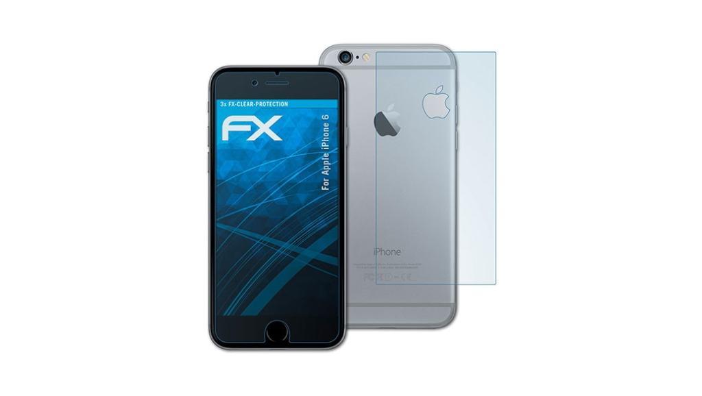 Dos buenas laminas protectoras para la pantalla del iPhone 6
