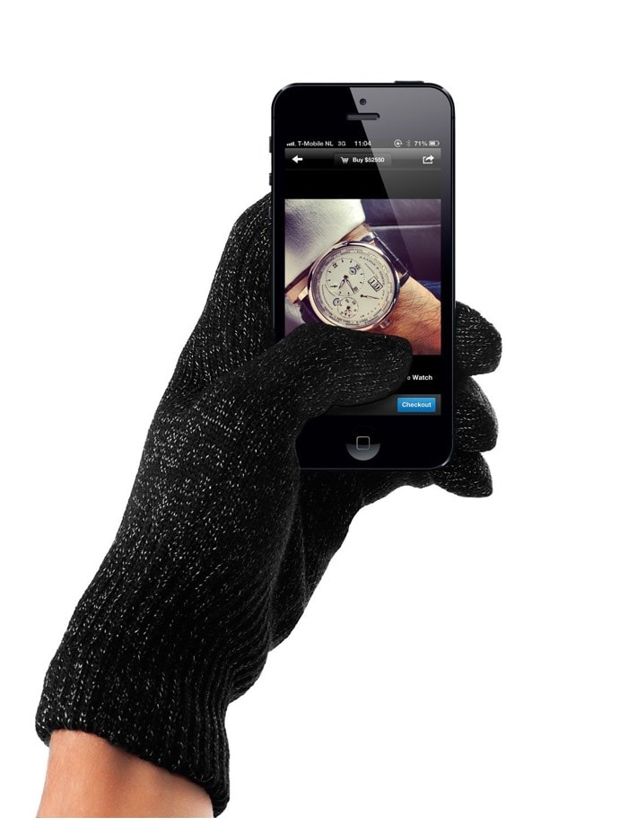 guantes smartphones mujjo