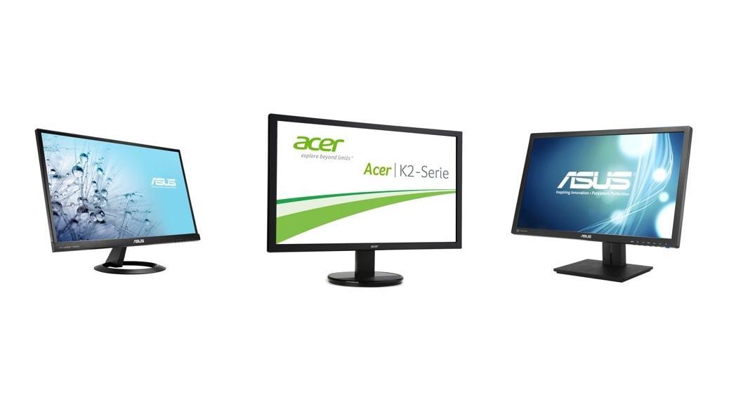 Los 6 mejores monitores de 2014: las mejores pantallas desde los 100 a los 1000 euros
