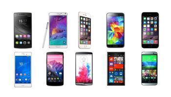 Los 10 mejores smartphones de finales de 2014 y principios de 2015