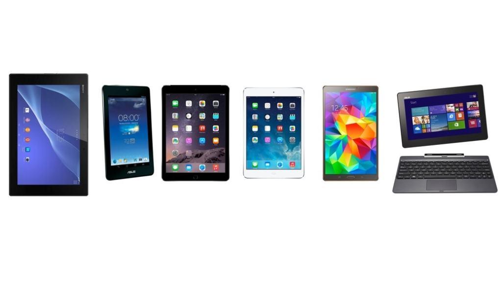 Los 6 mejores tablets para comprar o regalar estas navidades (2014)