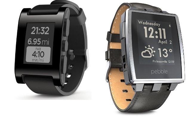 Pebble Smart Watch y Pebble Steel