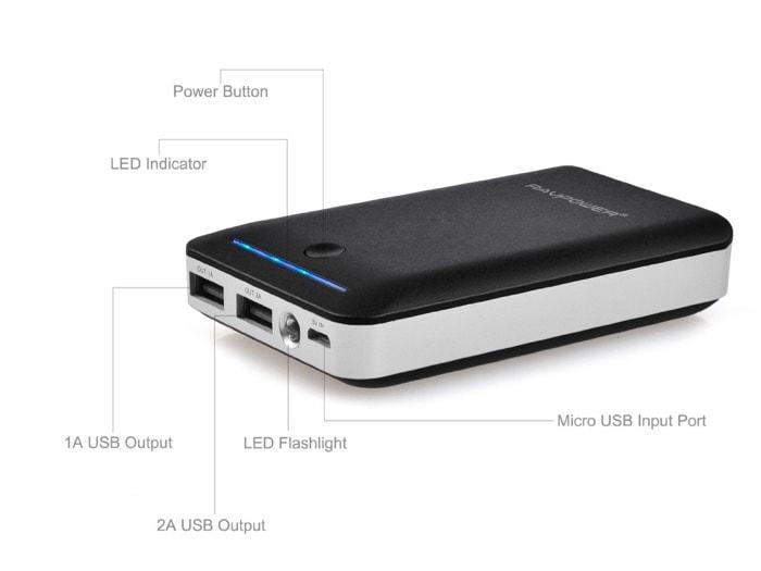 RAVPower bateria externa 14000mah