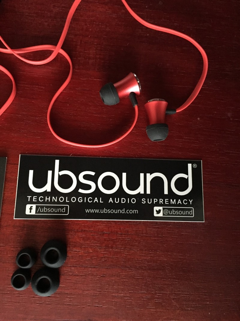 Ubsound Fighter auriculares in-ear