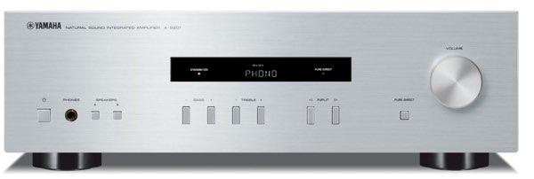 Yamaha A-S201, un amplificador Hi-Fi estéreo con entrada RCA y 140 W por canal