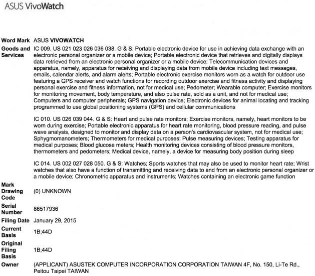 Asus VivoWatch presentacion marca