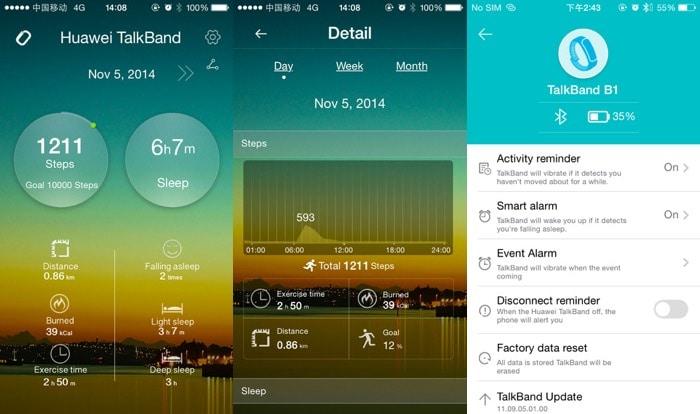 huawei talkband b1 app