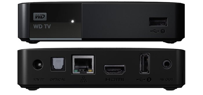 Western Digital WD TV reproductor multimedia