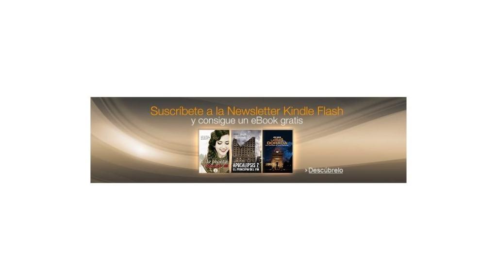 Descarga un ebook gratis para tu eReader Kindle