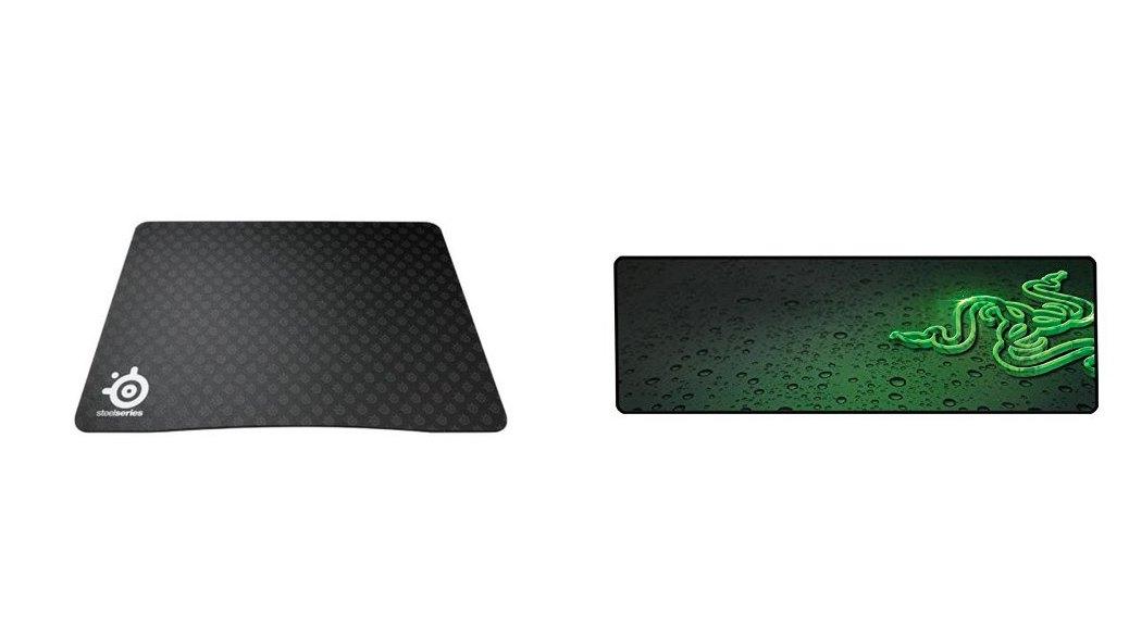 Las mejores alfombrillas de ratón para gaming: Razer Goliathus Speed Edition y Steelseries QcK y HD