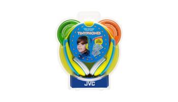 Los mejores auriculares para niños: JVC HA-KD5 Tiny Phones