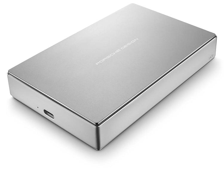 Lacie Porsche Design - Disco Duro Externo Portátil para Mac y PC 4 TB (USB 3.1 Type-C, 2.5')