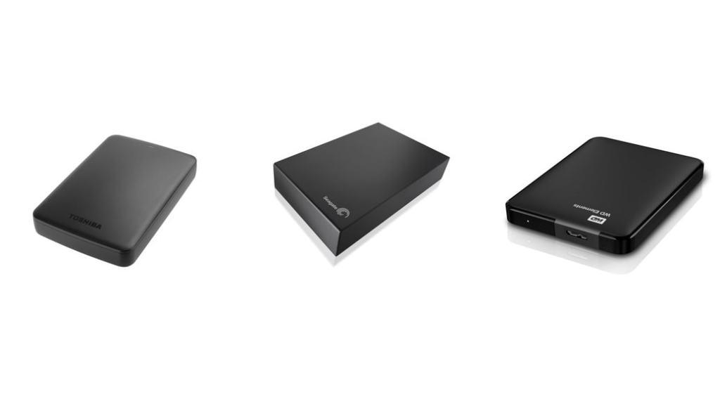Los 3 mejores discos duros externos con USB 3.0 y 2TB de almacenamiento por menos de 100 euros