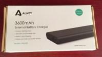 Aukey Batería Externa de 3600mAh con Apple Lightning