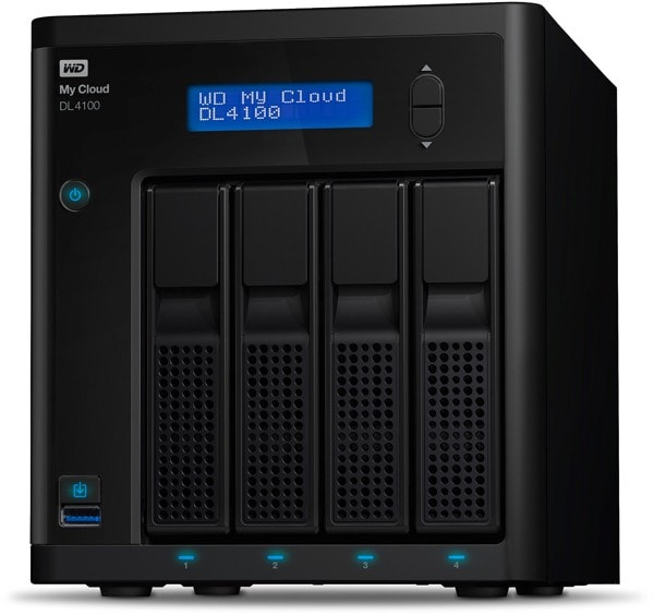 Western Digital DL4100 NAS