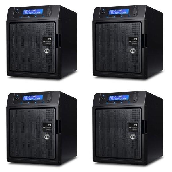 Western Digital Sentinel DX4200 NAS