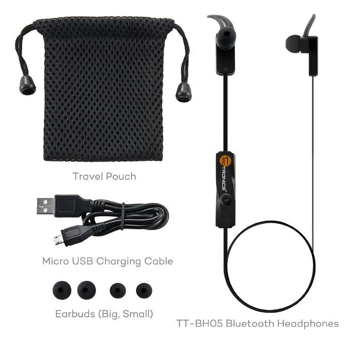 TaoTronics TT-BH05 - Auriculares deportivos con Bluetooth - Opinión