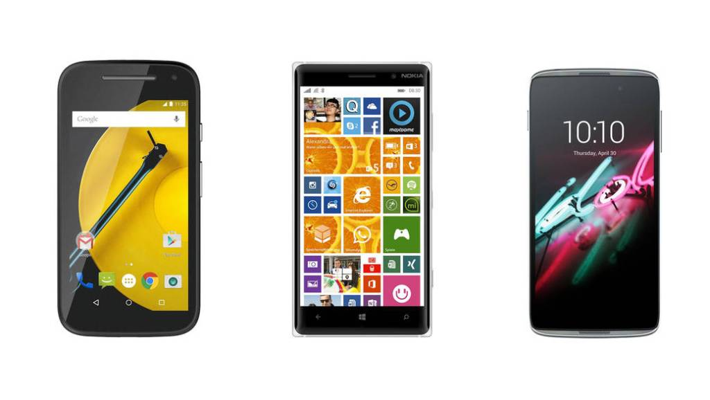 3 smartphones con un precio muy asequible y una duración de batería extraordinaria