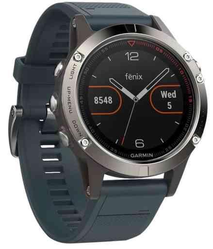 Garmin Fenix 5- Reloj multideporte, con GPS y medidor de frecuencia cardiaca