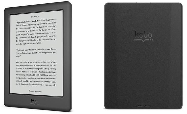 Kobo Touch 2.0, el nuevo eReader de bajo coste de Kobo