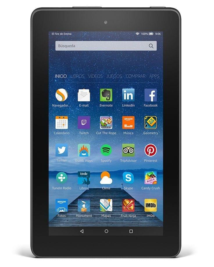 """Nuevo tablet Fire de 7"""" de Amazon por menos de 60 euros"""