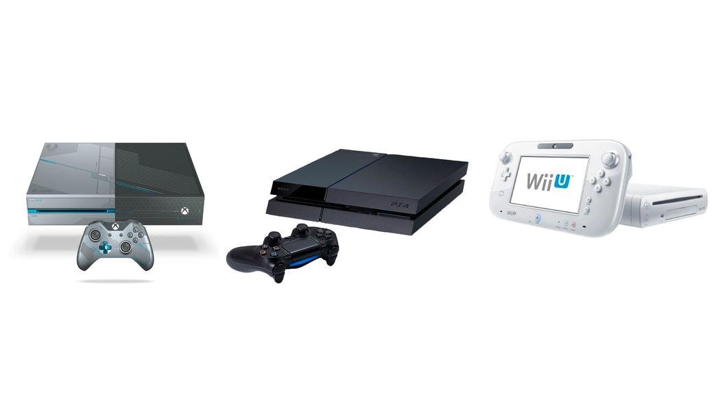 Playstation 4 Pro O Slim Vs Xbox One S O X Vs Wii U Vs Nintendo