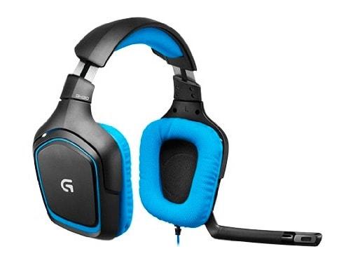 Logitech G430 - Auriculares Gaming de diadema cerrados USB