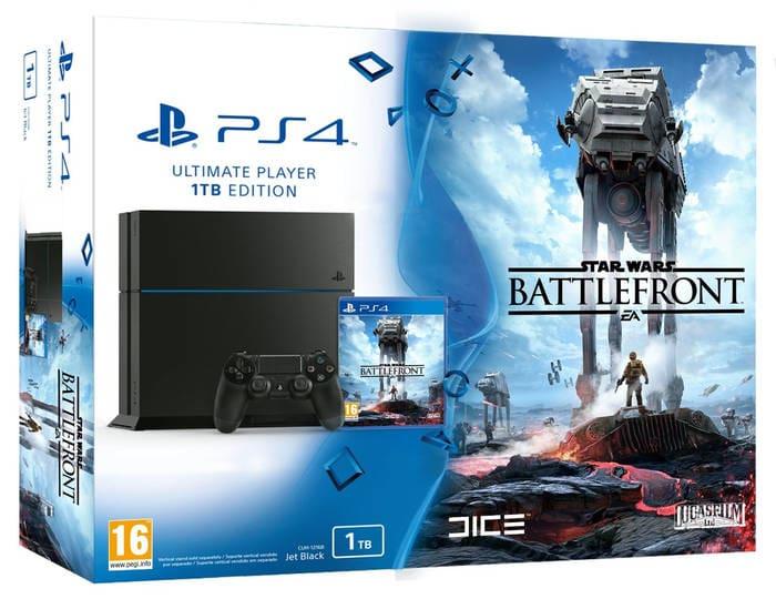 PlayStation 4 - Consola 1 TB + Star Wars: Battlefront