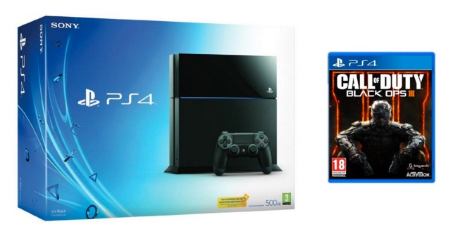 PlayStation 4 - Consola 500GB + Call of Duty Black Ops III