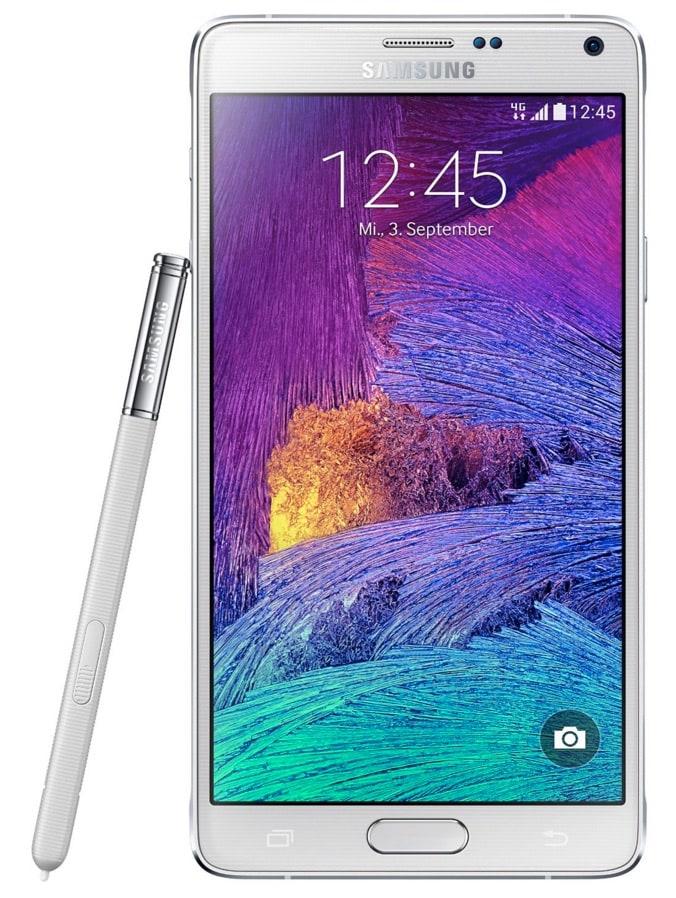 Los 8 mejores smartphones Android de 2015 y principios de 2016: Galaxy Note 4