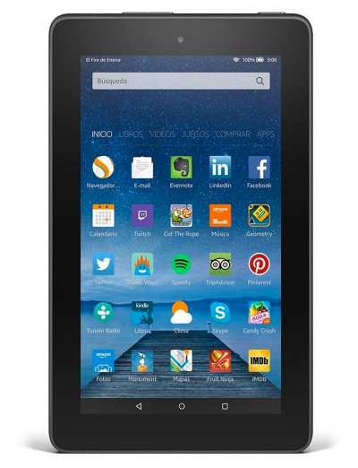 Los 6 mejores tablets de 2015: fire
