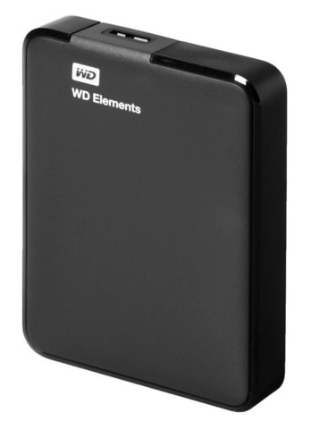 Western Digital Elements - Disco duro externo de 2 TB (USB 3.0)