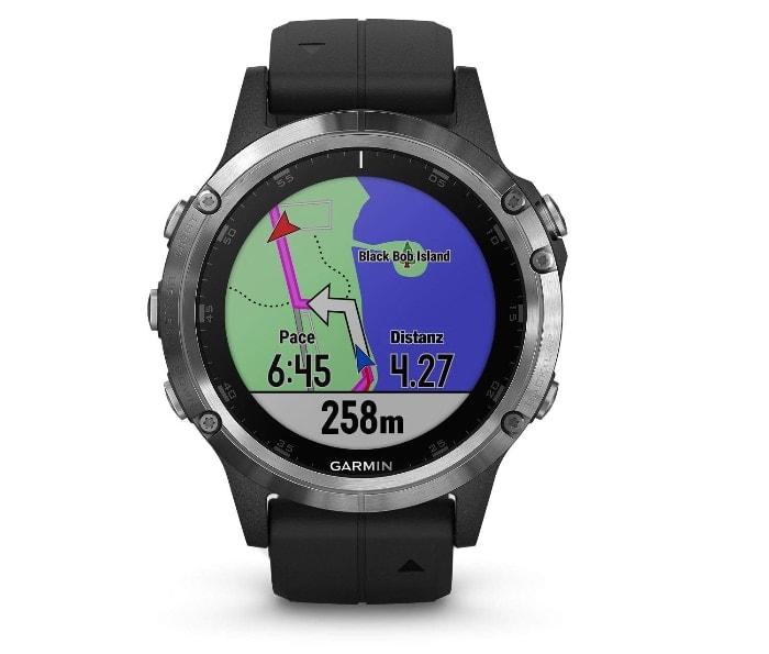 Garmin Fenix 5 Plus -Reloj GPS Multideporte